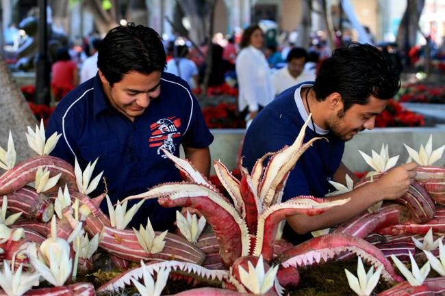 radish-festival-mexico
